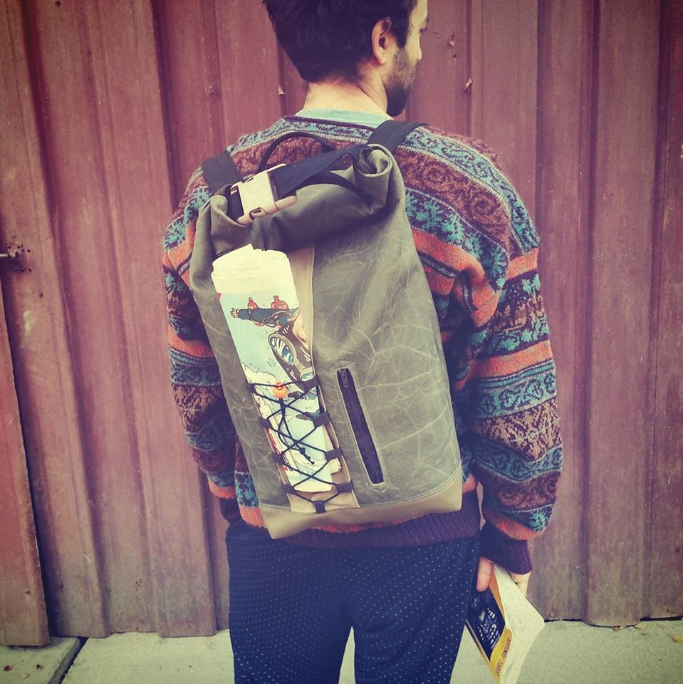 Zack's backpack